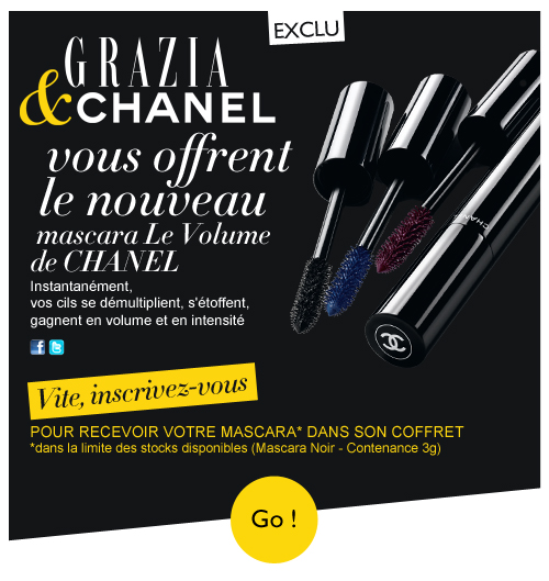 echantillon gratuit maquillage chanel 2015